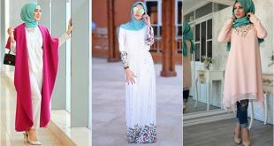 بالصور تنسيق الالوان في الملابس للمحجبات , تناسق الالوان في ملابس المحجبات