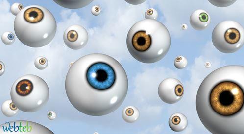 صور رؤية بقع سوداء امام العين , ذباب العين