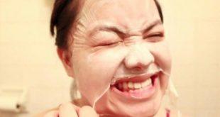 كيفية تقشير الوجه , ماسكات لتقشير الوجه