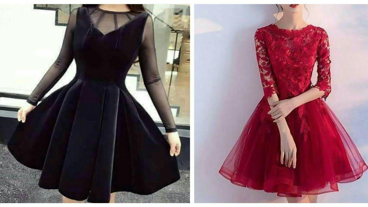 صورة احدث الفساتين القصيره , ارقى وافخم الفساتين القصيرة