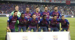 بالصور صور فريق برشلونة , لاعيبة برشلونة بالصور