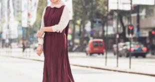 صورة احدث لبس محجبات 2019 , لبس جديد للمحجبات لهذا العام
