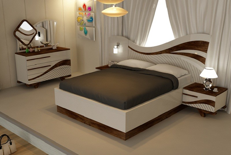 احدث غرف نوم 2021 , كوليكشن ولا اروع من غرف النوم الرومانسية لعام 2021 -  اغراء القلوب