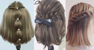 بالصور طرق تصفيف الشعر القصير , صففي شعرك القصير بخطوات بسيطة