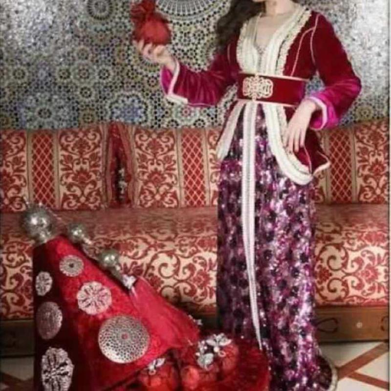 صورة قنادر الدار بالسفيفة المغربية , الزي المغربي الجميل باحدث التصميمات