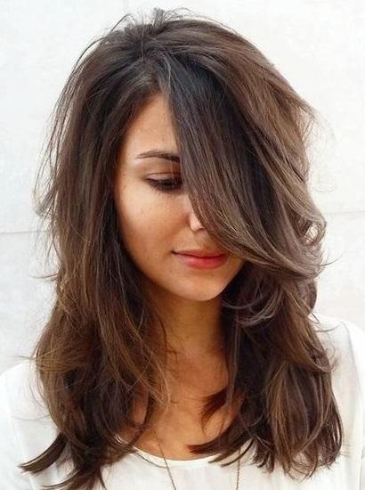 قصات شعر مدرج جمال الشعر المدرج و كيف يليق عليكي اغراء قلوب