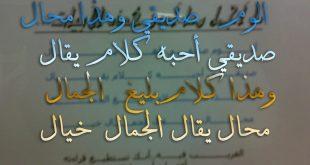 صور قصيدة مدح في صديق , كلمات مدح عن الصديق الوفى