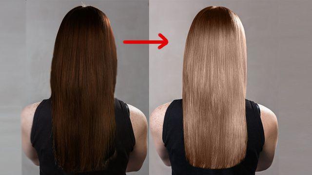 صورة تغيير لون الشعر طبيعيا , وصفات طبيعية لصبغ الشعر