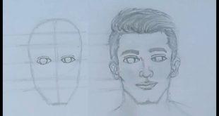 صورة تعليم رسم الوجه للمبتدئين , محاولات بسيطة لتعليم الرسم