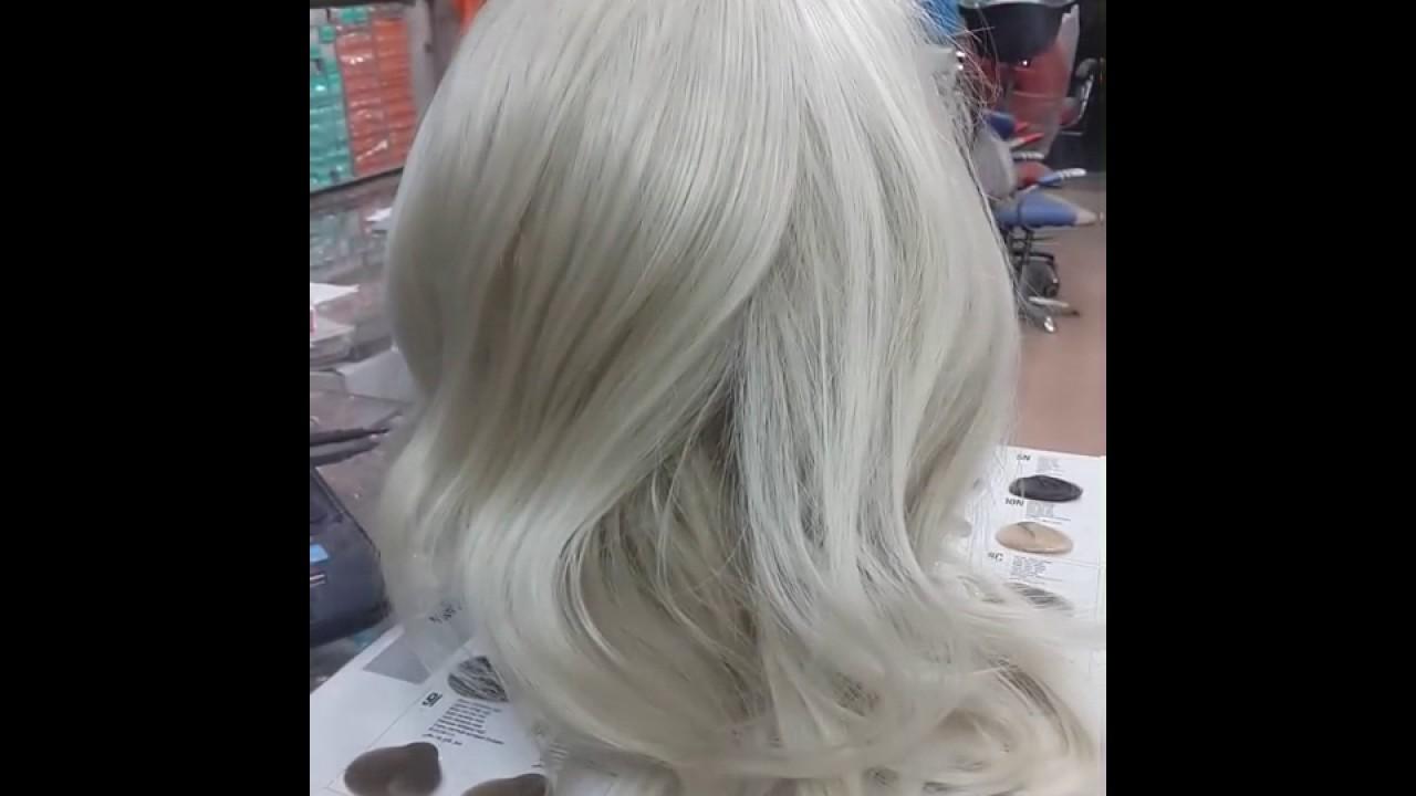 صور صبغ الشعر باللون الابيض , اجدد الالوان على مستوى العالم