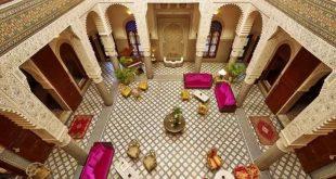 صور تصاميم منازل مغربية من الداخل , للمنزل المغربى سحر لا يقاوم