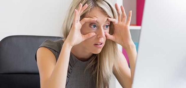 صور اعراض الارهاق وقلة النوم , اسباب الارهاق