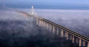 صورة ماهو اطول جسر بحري في العالم , جسر هايوان كوينغداو بالصين