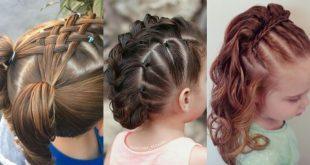 صورة تسريحات اطفال للاعراس , طولى شعر طفلك بهذه التسريحة .