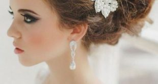 صورة تسريحات شعر العروسه , انسب تسريحة لليلة العمر 2019
