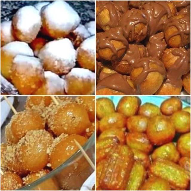 صورة كيف تصنع العوامة , حلوى لقمة القاضى بمكونات سهلة في المنزل .