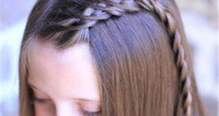 صورة طريقة تسريحات الشعر للبنات , اصنعى لابنتك مايزينها حتى لا تغار من قرائنها