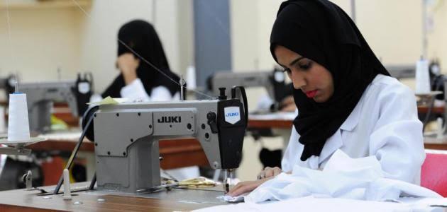 صورة موضوع تعبير عن عمل المراة , العمل أساسه الممارسة فادخلى المنافسة