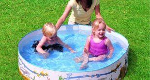صورة حمامات سباحة للاطفال , متعى طفلك برياضة محببة ولكن فى الامان