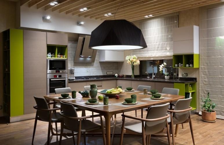 صورة طاولات طعام للمطبخ , استغنى عن التوسع بطاولة للتجمع