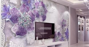 صورة تصميم ورق جدران , تطلعي لأحدث التصاميم في عالم الحوائط