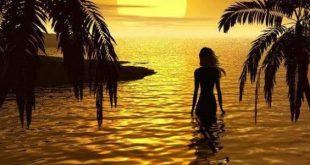 صورة كيف تكون شاعرًا وقت الغروب , تعبير عن غروب الشمس