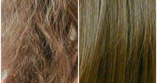 صورة تخلصي من الشعر التالف ،علاج تلف الشعر