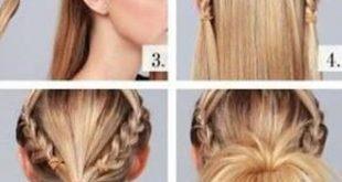 ابسط تسريحات الشعر بالخطوات