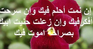 صورة اجمل كلمات رومانسيه والحب ،كلام حب وغزل وشوق للحبيب 5669 17 310x165